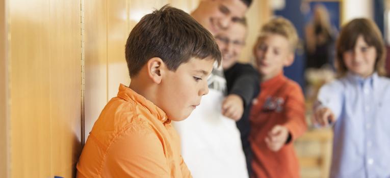 O comportamento da criança quando sofre Bullying