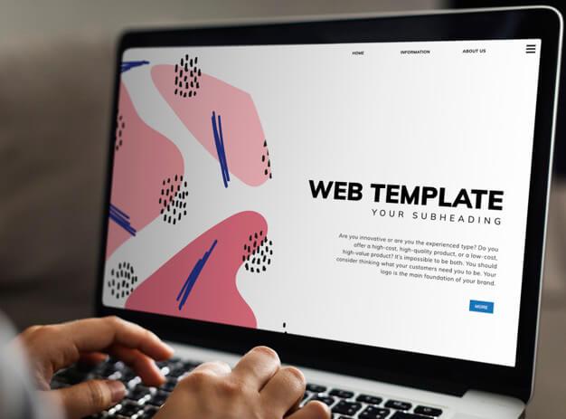 conceito de desenvolvimento de site