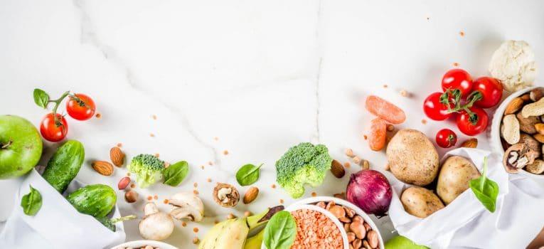 Como manter a alimentação saudável em casa