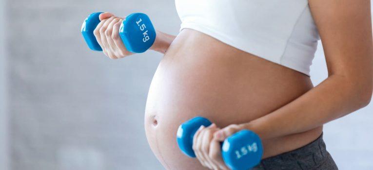 Os exercícios que podem ser praticados na gravidez